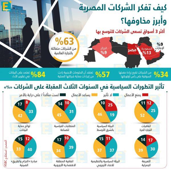 كيف تفكرالشركات المصريةوأبرز مخاوفها؟
