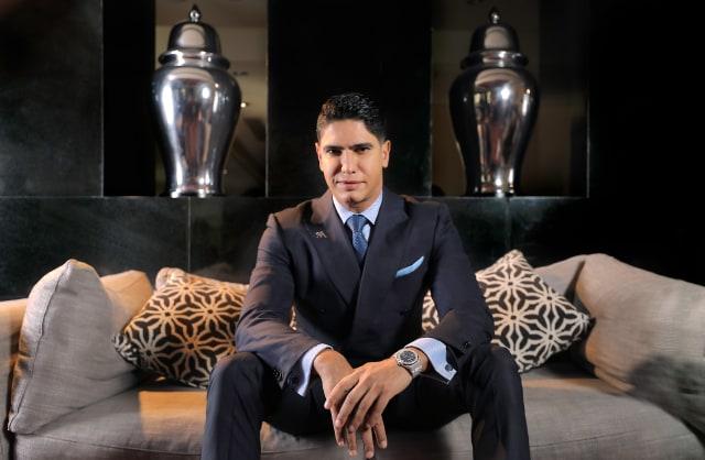 أحمد أبو هشيمة رجل الأعمال المصري