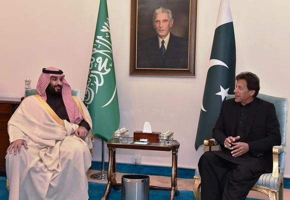 محمد بن سلمان في باكستان