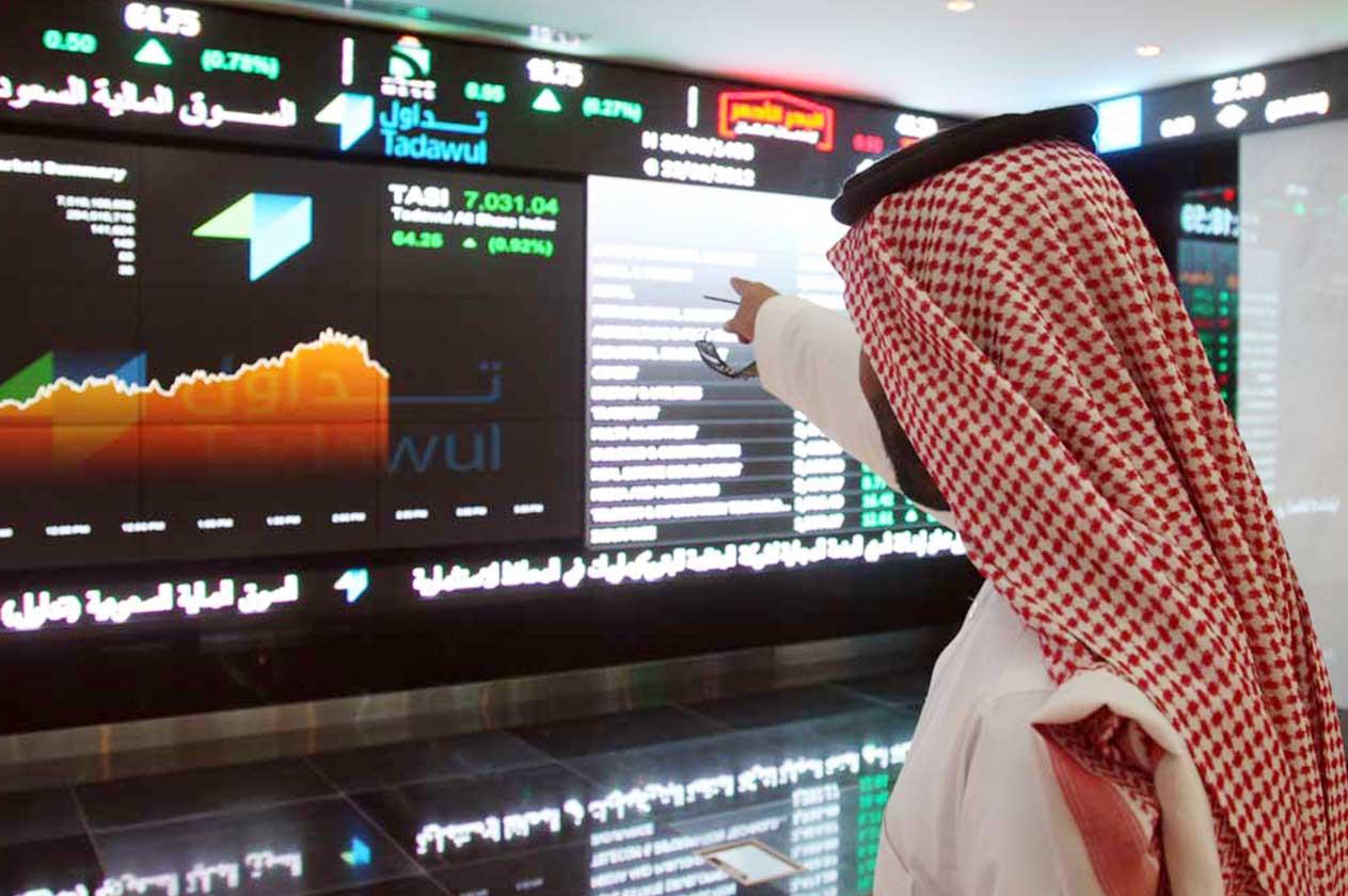 البورصات الخليجية