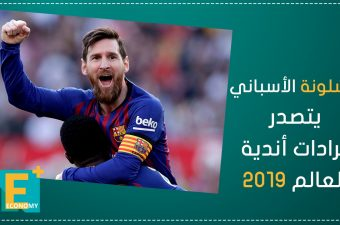 برشلونة الأسباني يتصدر إيرادات أندية العالم 2019