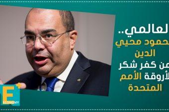 العالمي.. محمود محيي الدين من كفر شكر لأروقة الأمم المتحدة