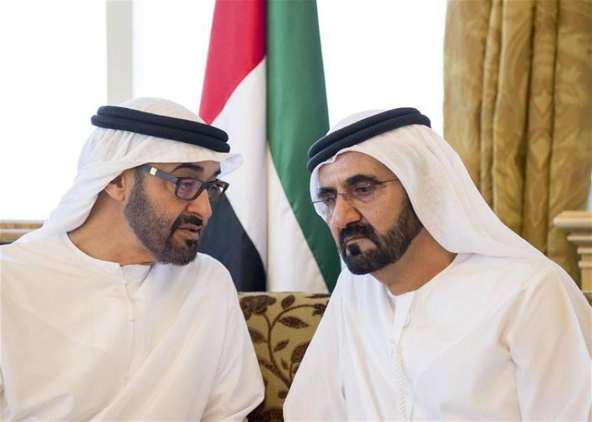 حاكم دبي وحاكم أبوظبي