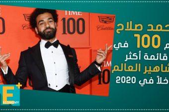 محمد صلاح رقم 100 في قائمة أكثر مشاهير العالم دخلاً في 2020
