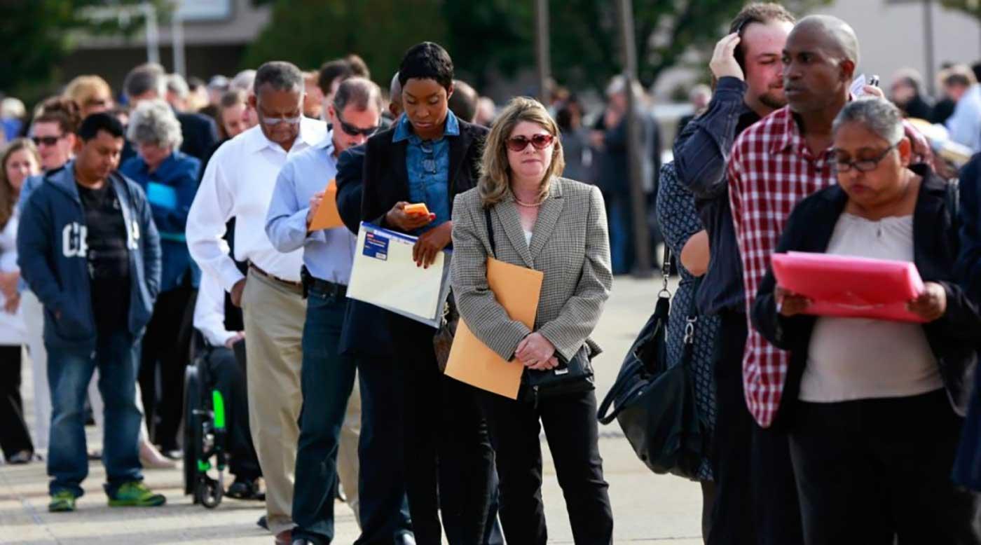 البطالة في أمريكا