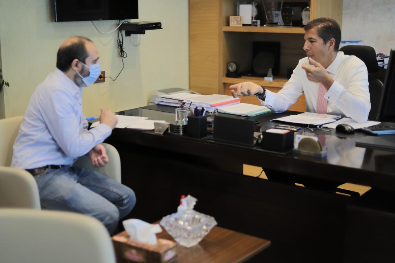 حوار شريف رياض- البنك الأهلي