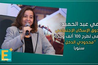 """مي عبد الحميد: صندوق الإسكان الإجتماعي يسعى لطرح 100 ألف وحدة """"محدودي الدخل"""" سنويا"""